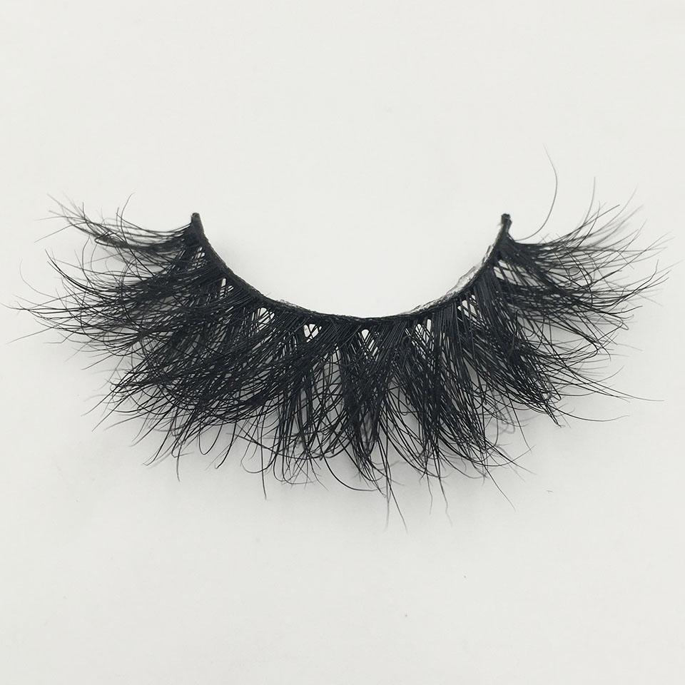 Fluffy Eyelashes 3D Mink Lashes Handmade Soft Natural Lashes Makeup False Lashes Vendors Real Mink Eyelashes Wholesale