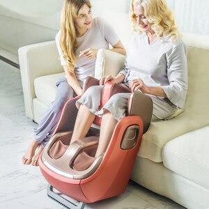 Image 4 - חשמלי רגל ורגל והברך לעיסוי אינפרא אדום חימום רגליים עגל עיסוי מכונה אוויר לחץ אוויר דחיסה Massagem