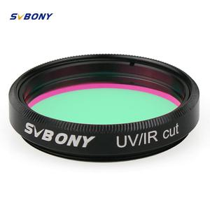 SVBONY 1.25'' Filter UV/IR Cut Telescope Optics Infra Red Filter CCD Camera for Astronomy Monocular Binoculars Telescope F9127(China)