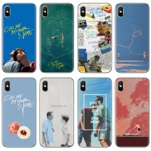 Slim Silicone Soft Phone Cover Call Me by Your Name For Huawei G7 G8 P7 P8 P9 P10 P20 P30 Lite Mini Pro P Smart 2017 2018 2019(China)
