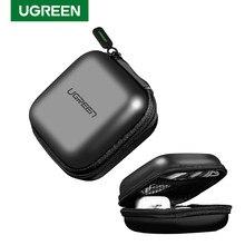 Ugreen étui pour écouteurs dur casque sac pour Airpods Earpods Sennheiser oreillettes sans fil Bluetooth écouteurs accessoires