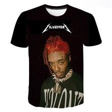 2021hot Vente Chanteur Lil Uzi Vert 3d Imprimé T-shirt Unisexe Mode Harajuku Décontracté Manches Courtes Hip-hop Populaire Haut