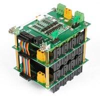 Чехол для внешнего аккумулятора 16 В 18650, держатель для батареи 4S, балансировочный аккумулятор bms 40A 120A diy 16В, батарейный блок для электрическо...