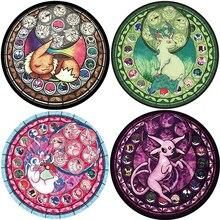 Cartoon Pokemon Patroon Ronde Tapijt Gebed Tapijt Voor Woonkamer Keuken Slaapkamer Deuropening Badkamer Matten En Tapijten Decoratie DW255