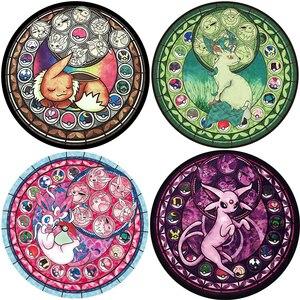 Image 1 - Cartoon pokemon muster runde teppich gebet teppich für wohnzimmer küche schlafzimmer doorway bad matten und teppiche dekoration DW255