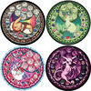 cartoon pokemon pattern round carpet prayer rug for living room kitchen bedroom doorway bathroom mats and rugs decoration DW255