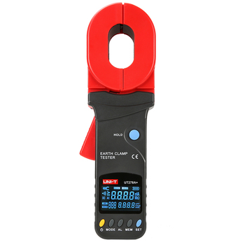UNI-T UT278A+ High Precision Digital Display Clamp Earth Ground Testers Clamp Ground Resistance Tester