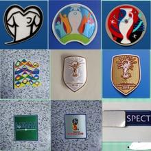 Insignia de fútbol de transferencia térmica, parche de copa de calidad de campeones del mundo, 2002, 2004, 2006, 2010, 2014, 2018, 2022