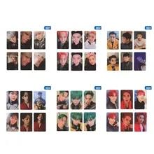 6Pcs Set KPOP EXO Album Self Made Paper Card Photo Card Poster Photocard Fans Gift