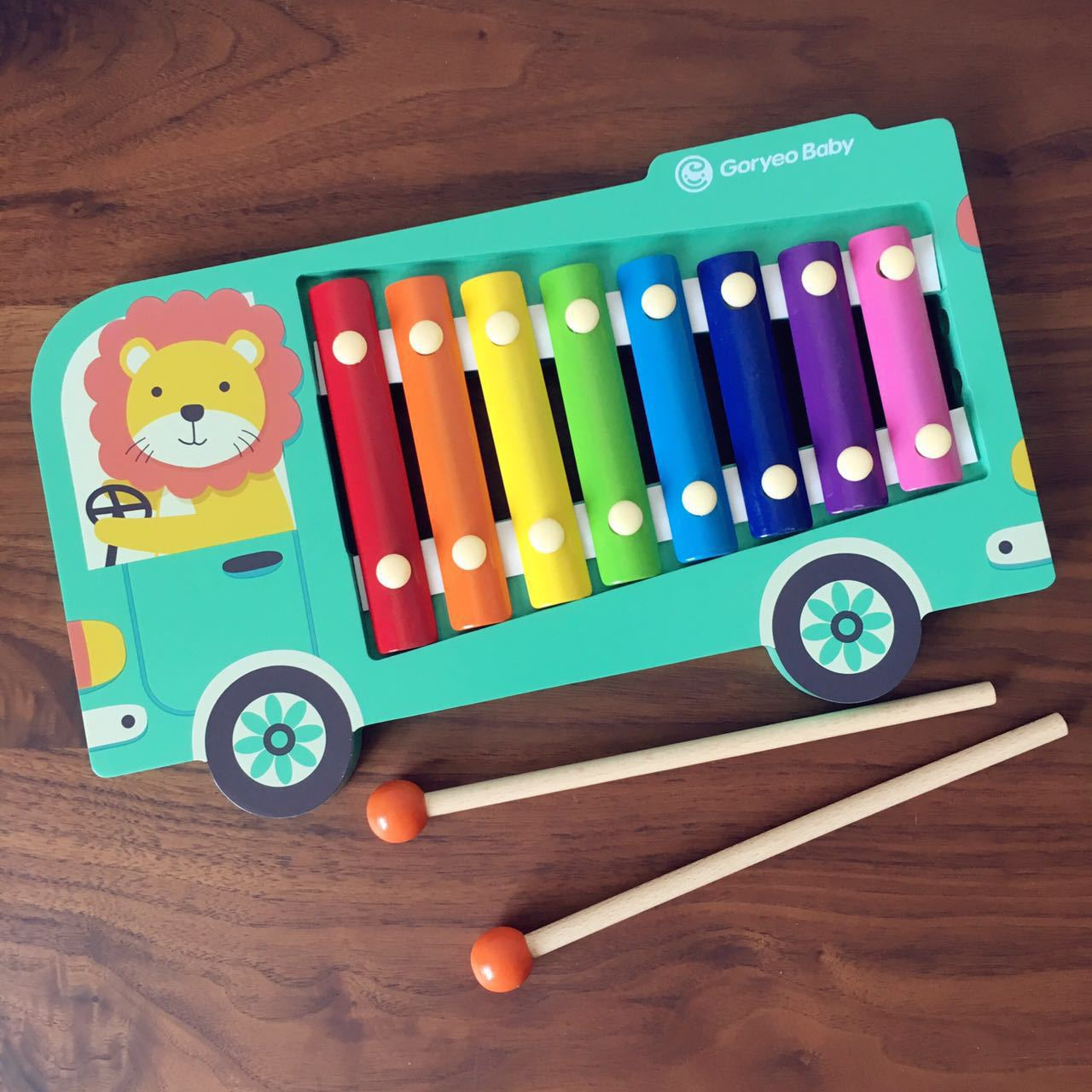 Infants Children Wooden Octave Toy Piano Xylophone 1-2-3-4-Year-Old GIRL'S And BOY'S Baby Wood Music Toy