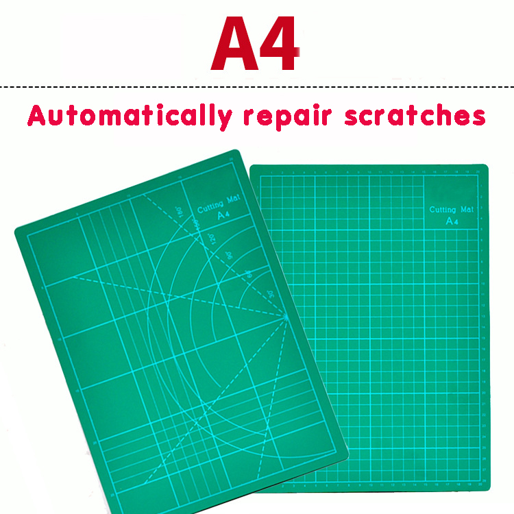 Dry Film Rubber Stamp Carving Pad A4 Patchwork Hand Account Cutting Pad Model Back Plate Self-healing Repair Cutting Board Tool