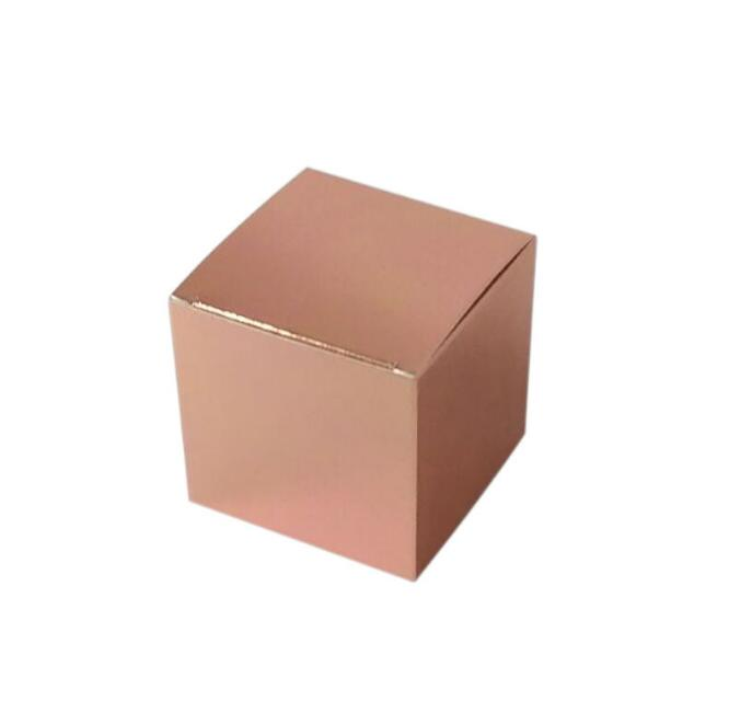 10pcs/lot Rose Gold Mini Wedding Laser Candy Box Favor Box Wedding Favour Box For Girls Boy Birthday Babyshow Supplie Gift Boxes