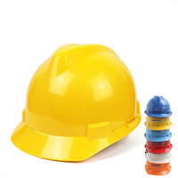 Head Protection Of Abs Safety Cap Crash proof And Impact proof Helmet In Construction Site