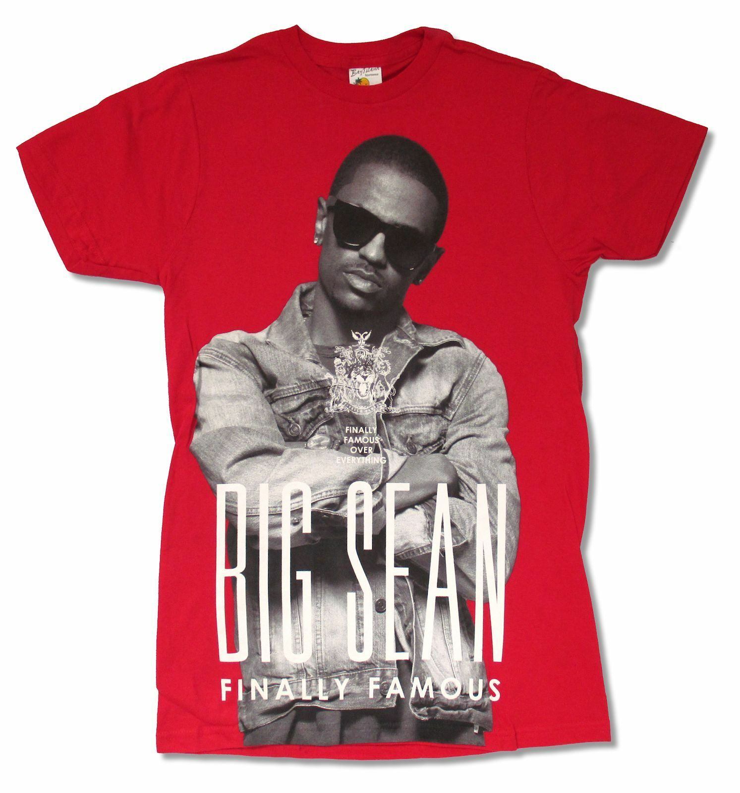 Big <font><b>Sean</b></font> Crest Tour Red <font><b>T</b></font> <font><b>Shirt</b></font> New Official Adult Hip Hop Rap image
