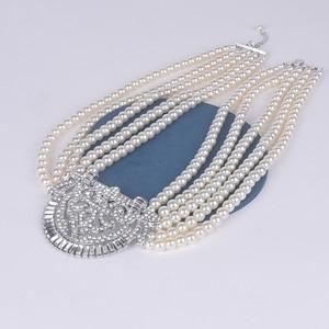 Image 5 - HW naszyjnik z pereł, akcesoria dla druhen ślubnych, akcesoria imprezowe, prezenty urodzinowe dla dziewczyn