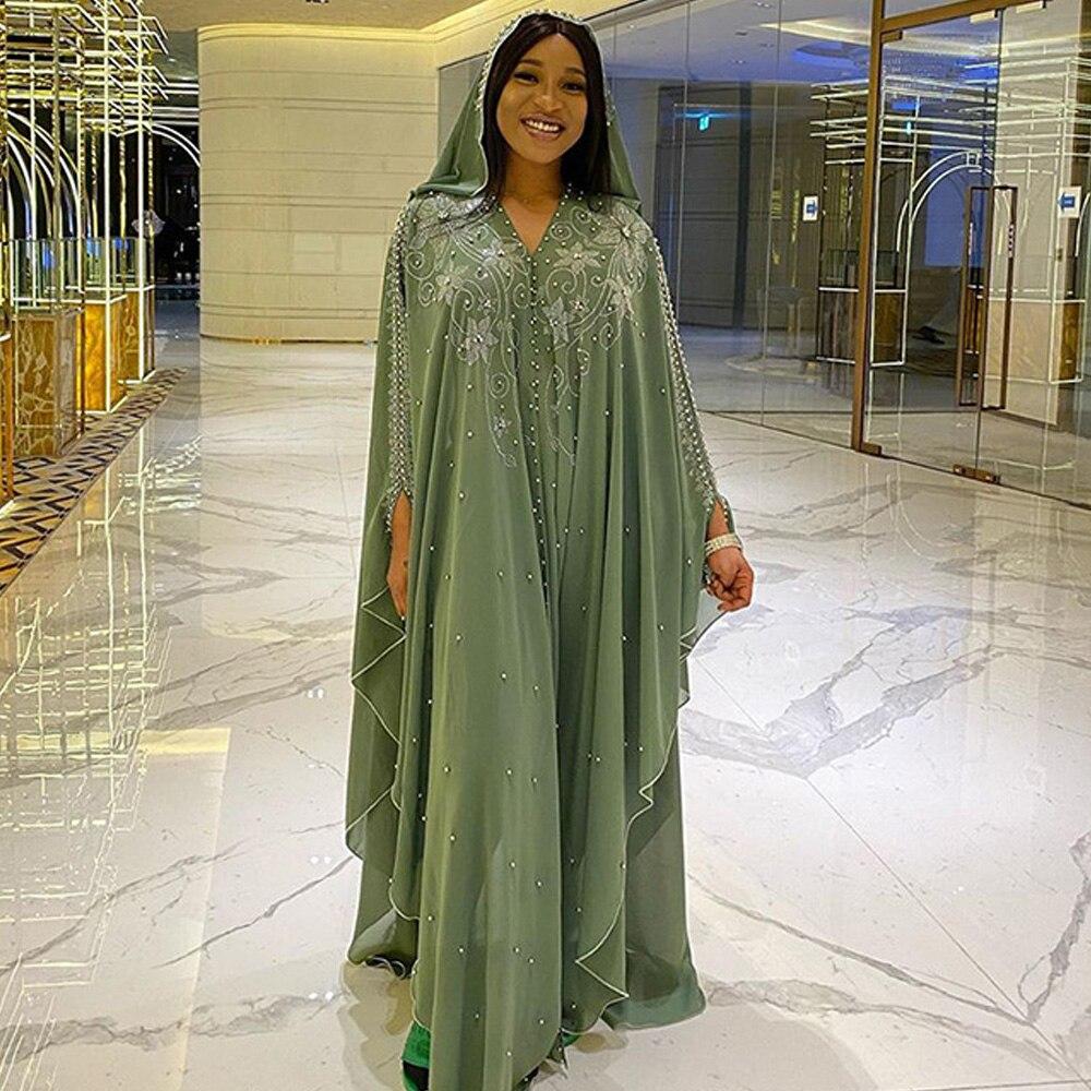Fashion Women African Dashiki Maxi Dress Shrugs Niqab Abaya Long Muslim Islamic Loose Dubai Turkey Bazin Dress Africa Clothes