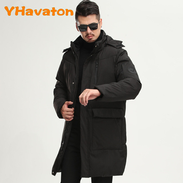 2020 New Winter Trench Jacket Men Fashion Cotton coat Hooded Jacket Thick jacket men Clothing warm coat 3XL Others Men's Fashion
