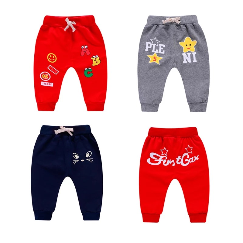 Pantalones De Algodon Para Ninos Modelos De Primavera Y Otono Informales Pantalones Aliexpress