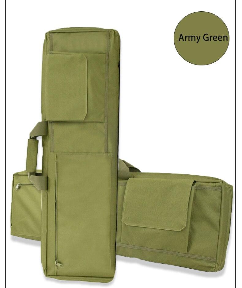 Airsoft portátil saco militar tiro caça acessórios