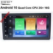 Isp Android 10 4 Core Auto Gps Voor Audi A4 B6 B7 S4 B7 B6 RS4 B7 Seat Exeo Geen dvd speler Radio Ips Scherm Wifi Bt Auto Speler