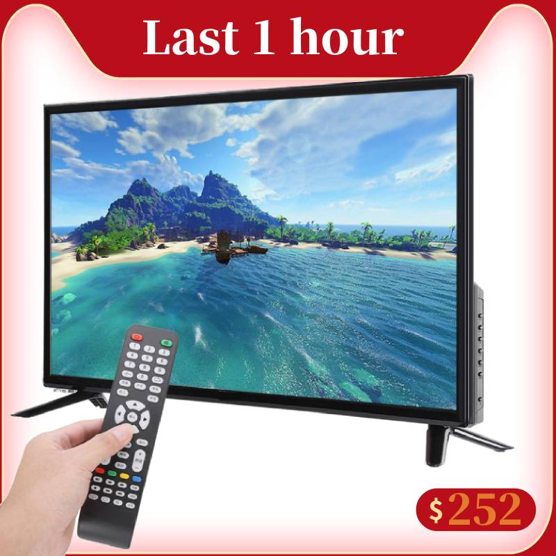 Multi Functional 32inch TV HD LCD Smart TV 2K WIFI Online Edition 220V Television with Network Innrech Market.com