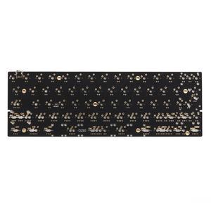 Image 3 - DZ60 Custom mechanical keyboard PCB 60% keyboard support arrow key alu plate gateron switch stab