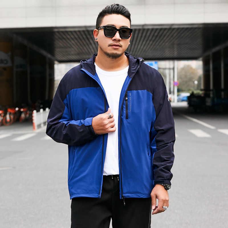 2020 neue Frühling Herbst Männer Hoodies Sweatshirt Plus Mit Kapuze Jacke Trainingsanzug Drucken Mens Big Große Größe 7xl 8xl Bargeld Auf lieferung