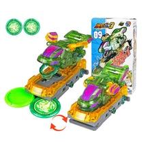 Nouveau AULDEY Screechers sauvage rafale déformation voiture figurines multi-voiture épissure Capture gaufrette 360 Flip Transformation voiture jouets