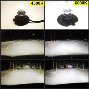Image 5 - 2 قطعة H1 H7 H8 H9 H11 9005 HB3 9006 HB4 LED في Canbus سيارة المصابيح الأمامية 6000K 50W 18000LM 8 الجانبين 48CSP 360 ° ضوء السيارات كشافات