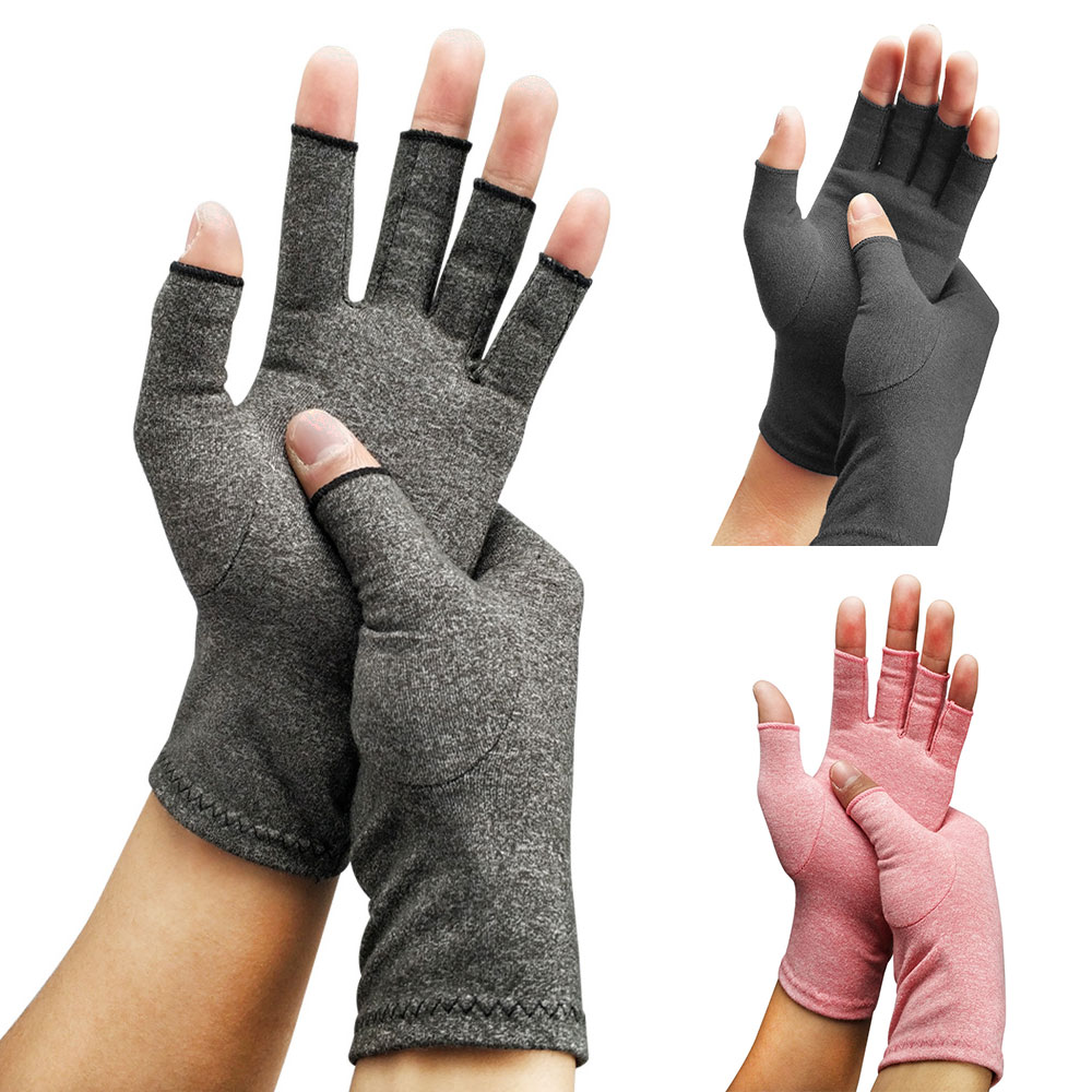 1pcs Unisex Men Women Compression Arthritis Gloves Cotton Joint Pain Carpal Relief Care Hand Mittens Rheumatoid Osteoarthritis