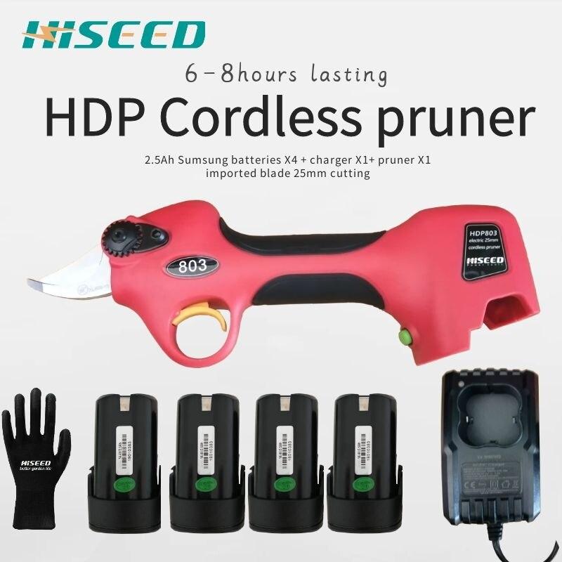 HDP803 sécateur électrique de vigne meilleurs outils de jardin (certificat CE)