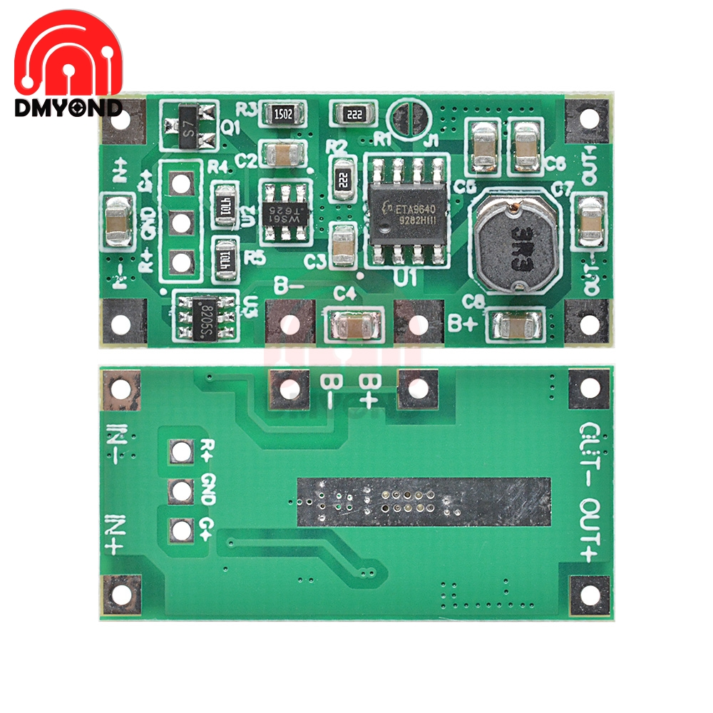 5V1A UPS Uninterruptible Power Supply Module 18650 Lithium Battery Step Up Reverse Router with Protection Charging Tools