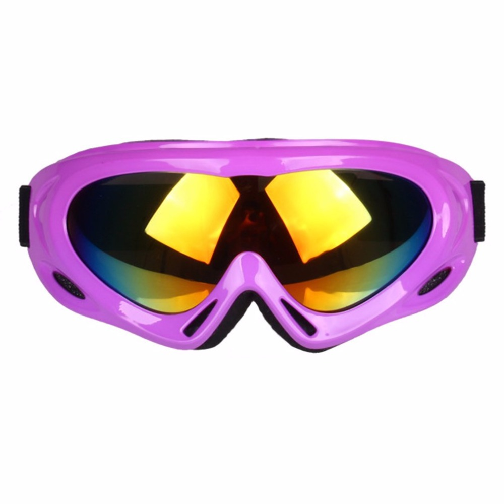 Unisex Anti-fog Ski Glasses Windproof Anti-sand Snow Snowboard Ski Goggles Eyewear For Outdoor Activities TS-008 Hot