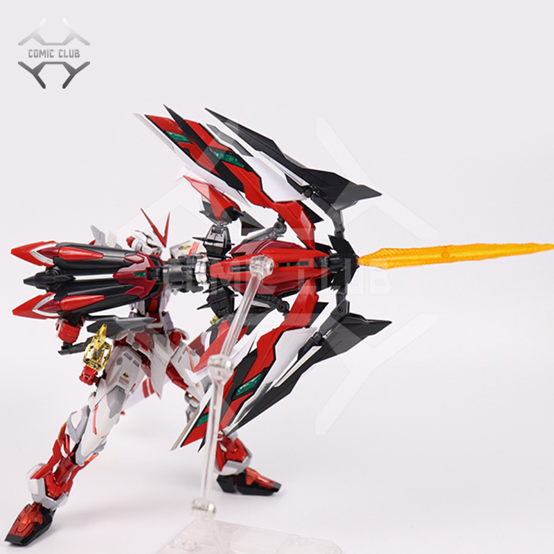 COMIC CLUB IN-Stock Mg 1/100 DABAN MBF-P02 Astray RED Frame Gundam MB SWORD Ver.  ROBOT MODEL Assembly Figure Anime Toys Figure