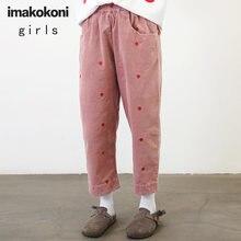Осенние женские свободные шаровары imakokoni вельветовые повседневные