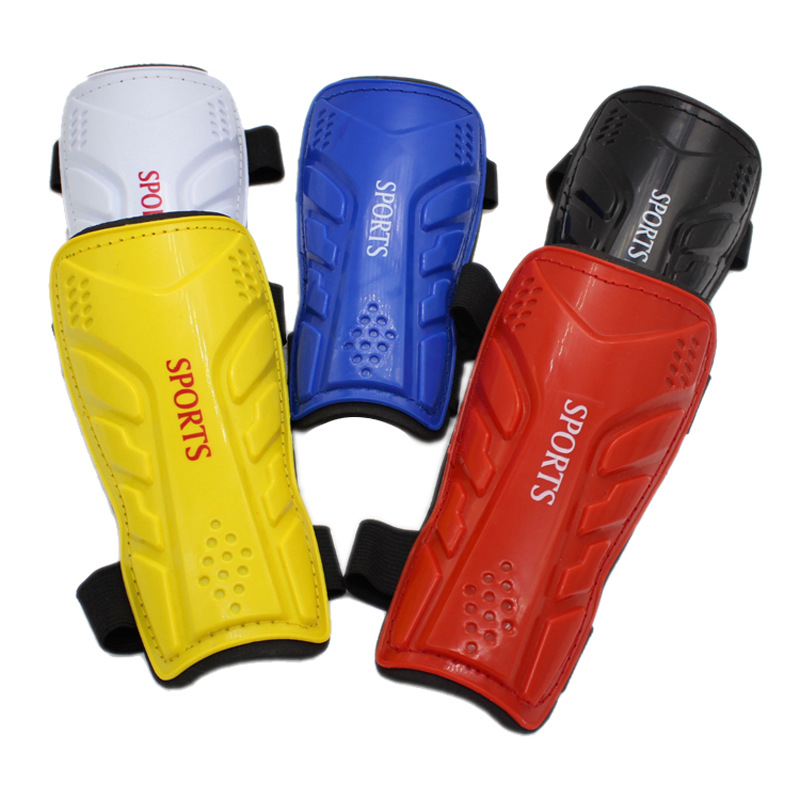 Hot Selling Manufacturers Genuine Product Color Children Bandage Cloth Football Shin Pads Sport Ware Small Wholesale