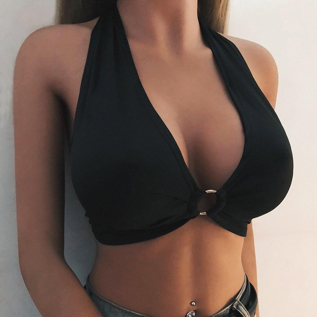 MIARHB женский укороченный топ без рукавов, сексуальный топ на бретелях, летние топы, кроп-топ, женская футболка, Модный повседневный топ-бюсть...