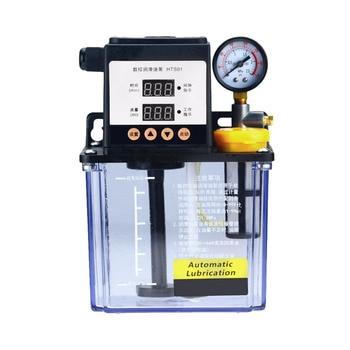 110V 2L 2 Liters lubricant pump automatic lubricating oil pump 1L 1 Liters cnc electromagnetic lubrication pump lubricator