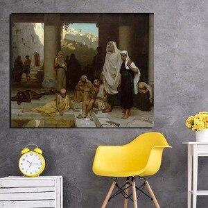 Edmund blair leighton pintura em spray arte clássica cartaz da lona pintura de parede imagem impressão casa decoração do quarto quadro