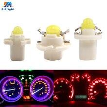 10 pçs/lote b8.3d b8.4d b8.5d cob 1 smd lâmpadas led 40lm painel interior leitura lado indicador de luz do carro farol condução 12v