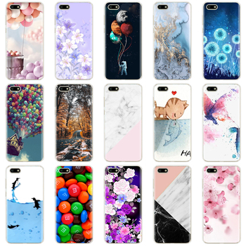 For Huawei Y5 2018 Case For Huawei Y5 Lite 2018 / Y5 Prime 2018 Case Soft Silicone Cover Cute TPU Fundas Coque for Y 5 2018 image