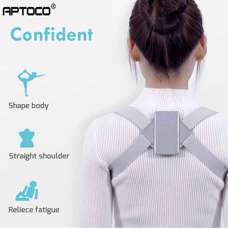 Adjustable Smart Back Posture Corrector Adult Back Brace Support Belt Shoulder Training Belt Correction Health Care Automatic