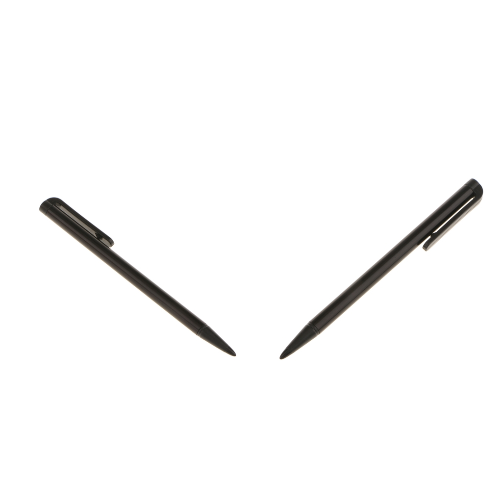 2Pack Resistive Touch Screen Stylus Pen For Nintendo 2DSLL/3DS -black
