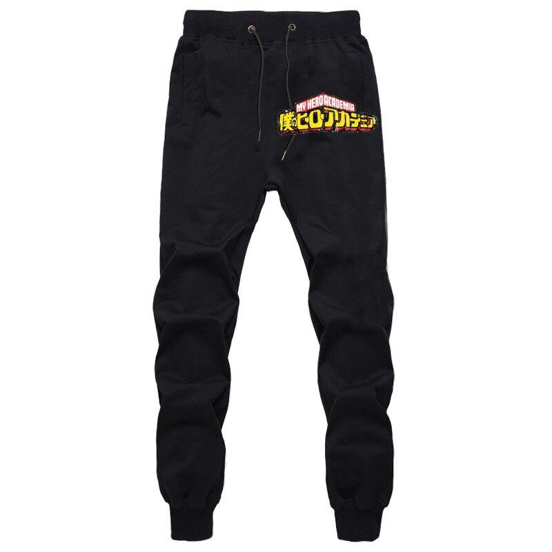 Mens Pants My Hero Academia Joggers Trousers Streetwear Sweatpants Men Pantalones Hip Hop Trousers Autumn Winter Harem Pants