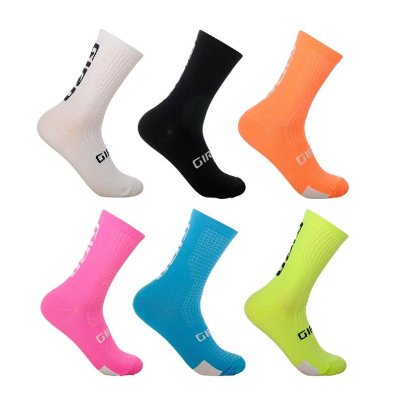 Профессиональные велосипедные носки нескользящие носки мужские спортивные носки высокого качества нейлоновые носки