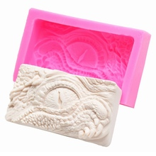 DIY Silicone Mold Dragon Eyes Pattern Cake Fondant Chocolates  Kitchen Accessories