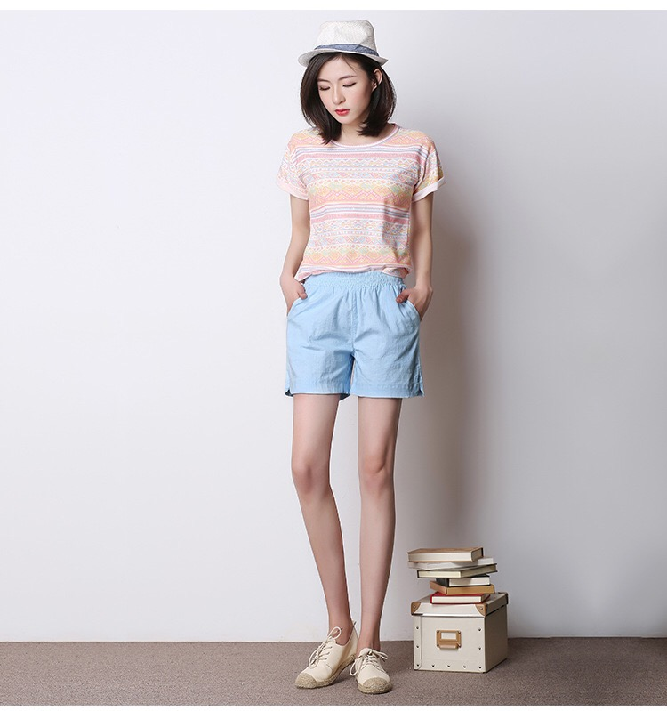 2019 New Shorts Elasticated Belt For Leisure And Comfort