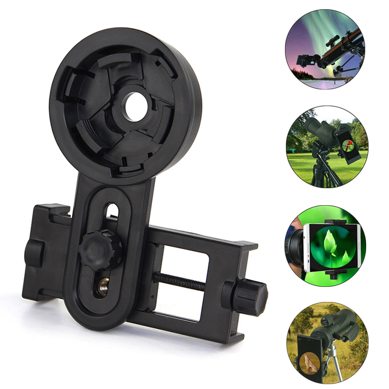 Photography Adapter Telescope Holder Phone Lens Quick Mount Stand For Binoculars Or Monocular Spotting Scope Microscope Support