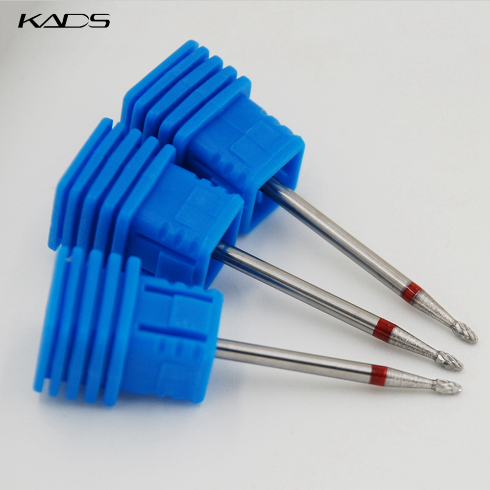 KADS Mini Bullet Alloy Nail Drill Bit For Electric Nail Drill Manicure Machine Pedicure Drilling Machine Nail Accessories Tools
