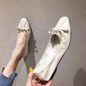 Image 1 - Shoes Woman Sapato Feminino2019 Oxford Shoes For Women Women flat Shoes Luxury Shoes Women Designers Loafers Ballerine Femme